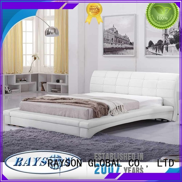 french bed base microfiber relax Rayson Mattress Brand hotel bed base