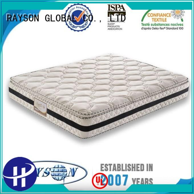 Custom goods pocket sprung and foam mattress thai Rayson Mattress