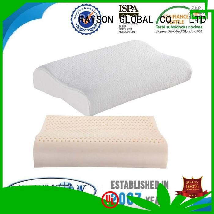 Rayson Mattress Brand diamond highly best latex pillow 2018 manufacture
