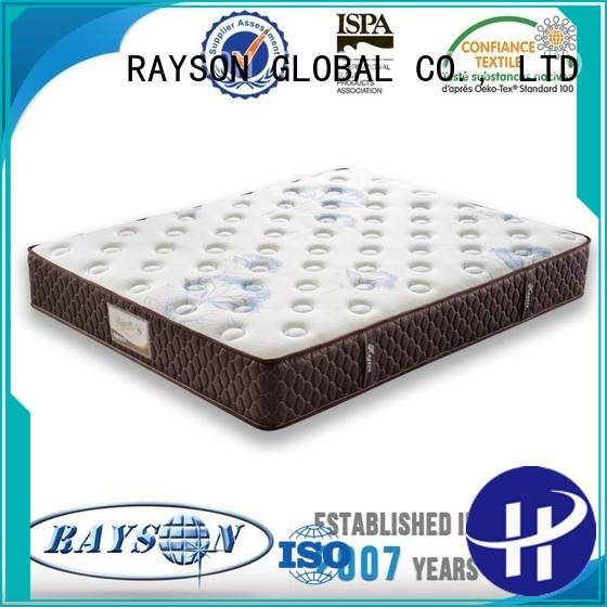 Rayson Mattress Brand 3d fiberfill firm custom pocket springs for sale