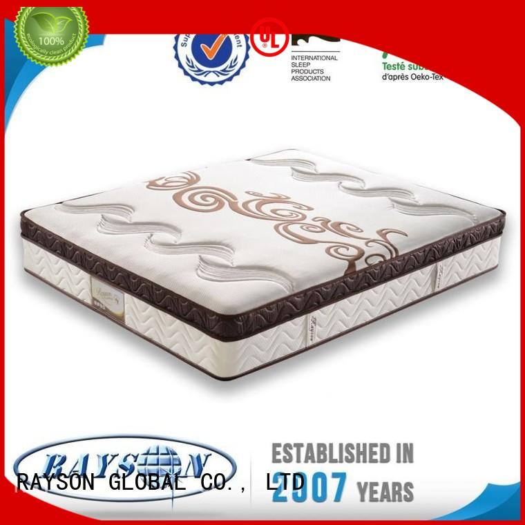 Custom mattresses conditioning cooling tufted bonnell spring mattress Rayson Mattress floral