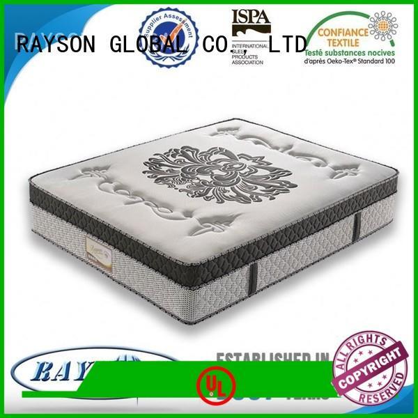Rayson Mattress king hotel pillow top mattress pad manufacturers