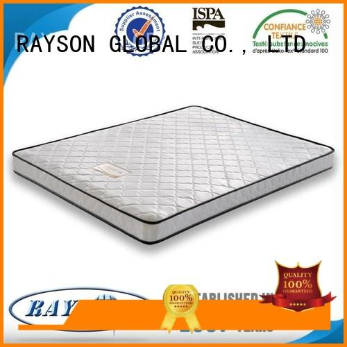 bedroom Spring Mattress manufacturer with double side usage for villa Rayson Mattress
