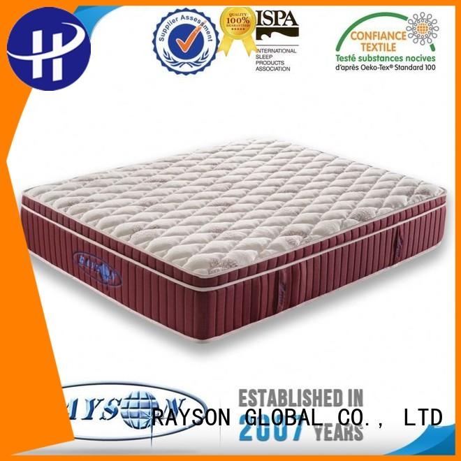 Rayson Mattress Brand eco 5 star hotel mattress chasing factory