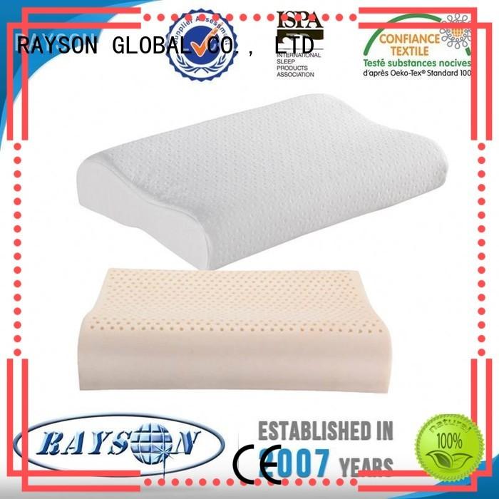 Custom antislip best latex pillow 2018 covers Rayson Mattress