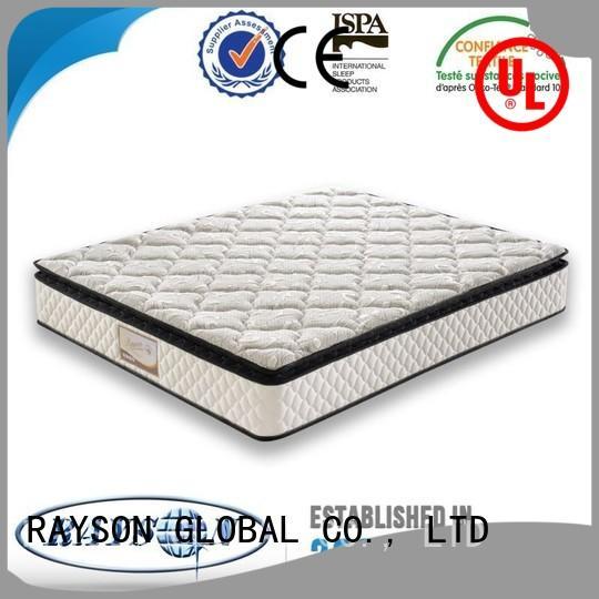 Rayson Mattress luxury dual spring mattress Suppliers