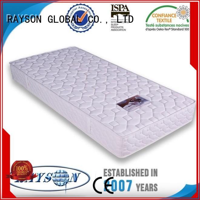 Rayson Mattress visco pocket support mattress supplier for villa