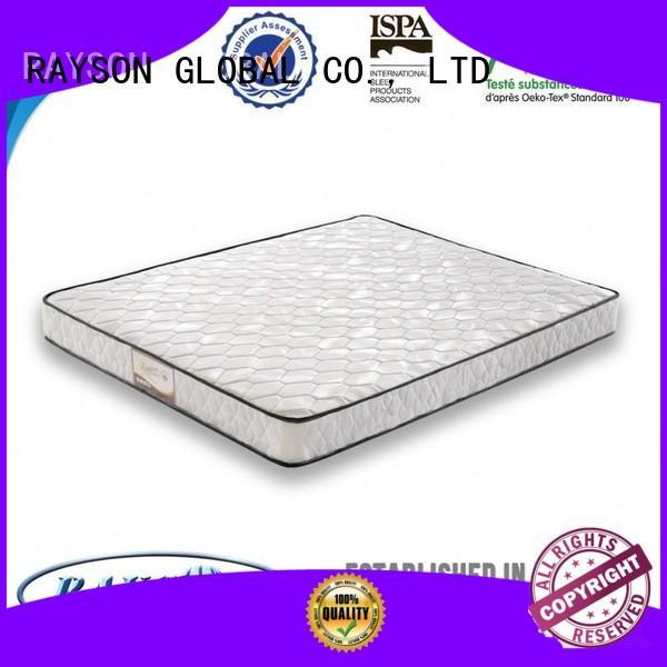 Rayson Mattress Brand truck fancy bonnell spring mattress benefits flexible factory