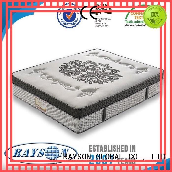 Rayson Mattress customized best pocket sprung mattress 2018 manufacturer for villa