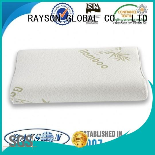 Rayson Mattress high quality viscoelastic pillow Supply