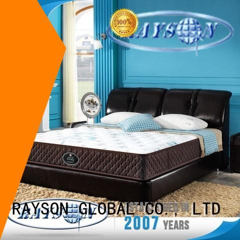 Rayson Mattress customized high bed frame full manufacturers