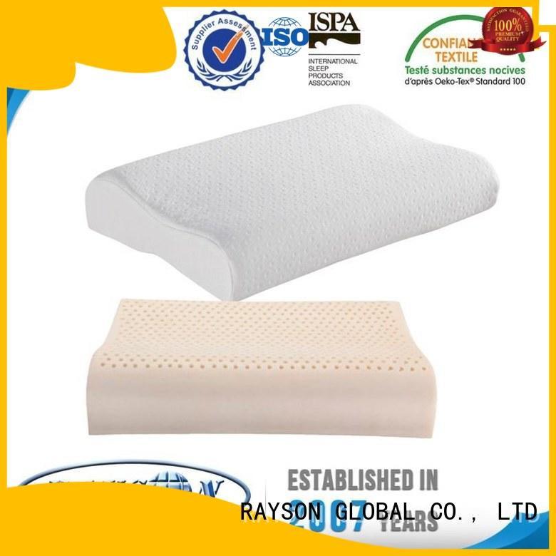 Rayson Mattress Brand commercial best latex pillow 2018 asleep factory