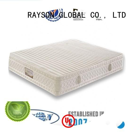fancy queen pocket springs for sale compression convoluted Rayson Mattress Brand