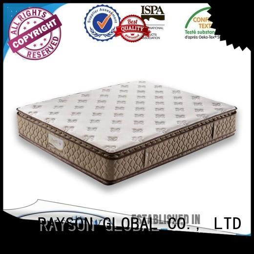 Rayson Mattress Brand comfortabe lots 5 star hotel mattress elegant factory