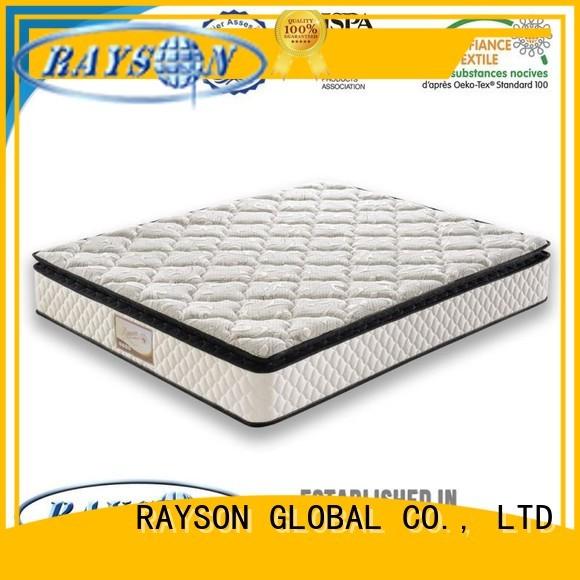 Rayson Mattress Brand concave cold reinforced king size pocket mattress