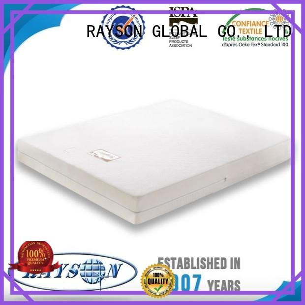 Rayson Mattress Brand toppers industry memory foam mattress and bed manufacture