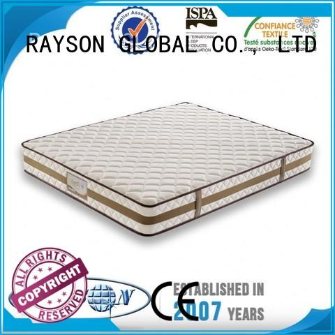 uk 3 Star Hotel Mattress certificate discount Rayson Mattress company