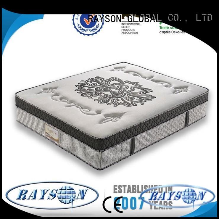 Latest pocket spring foam mattress customizable manufacturers