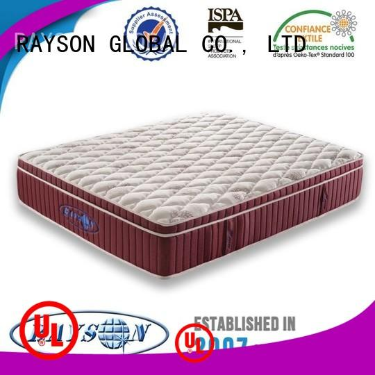 Rayson Mattress tight pocket sprung mattress beds manufacturer for house