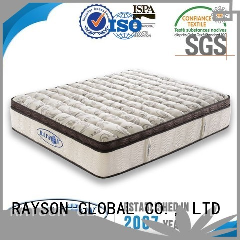 cheap prices best firm pocketed coil mattress wholesale for home Rayson Mattress