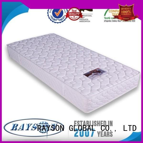 Wholesale health pocket sprung and foam mattress Rayson Mattress Brand