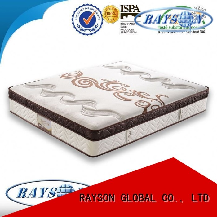 bonnell spring coil test cooling tufted bonnell spring mattress Rayson Mattress Brand