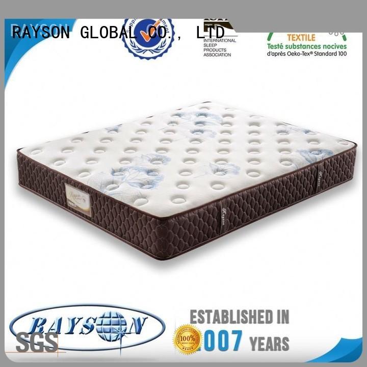 Rayson Mattress Brand orthopedic bedding custom pocket springs for sale