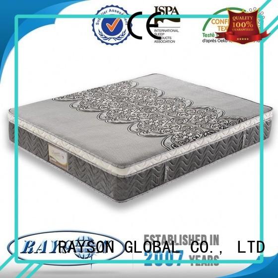 Rayson Mattress high grade pocket sprung mattresses online wholesale for hotel