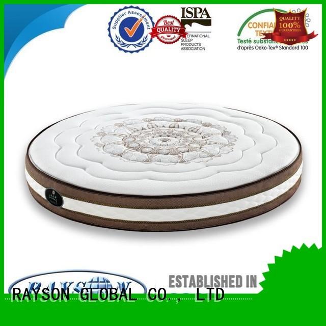 fire innerspring pocket sprung and foam mattress selfventilating Rayson Mattress