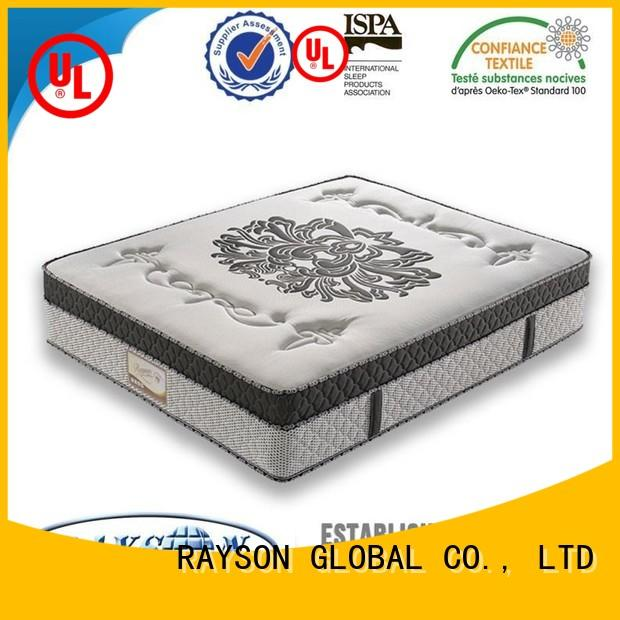 Rayson Mattress luxury hotel king mattress Supply