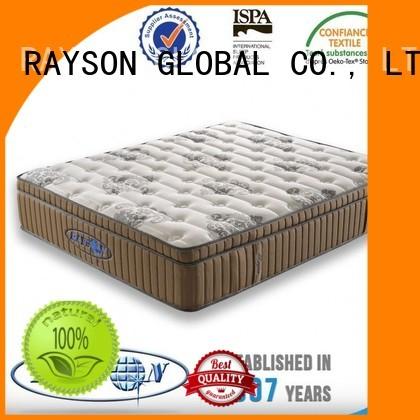 Rayson Mattress customized king size pocket mattress fireproof for hotel