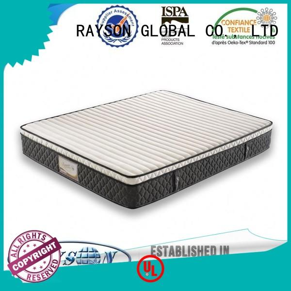 Rayson Mattress Top 3000 pocket sprung mattress with layer of memory foam manufacturers