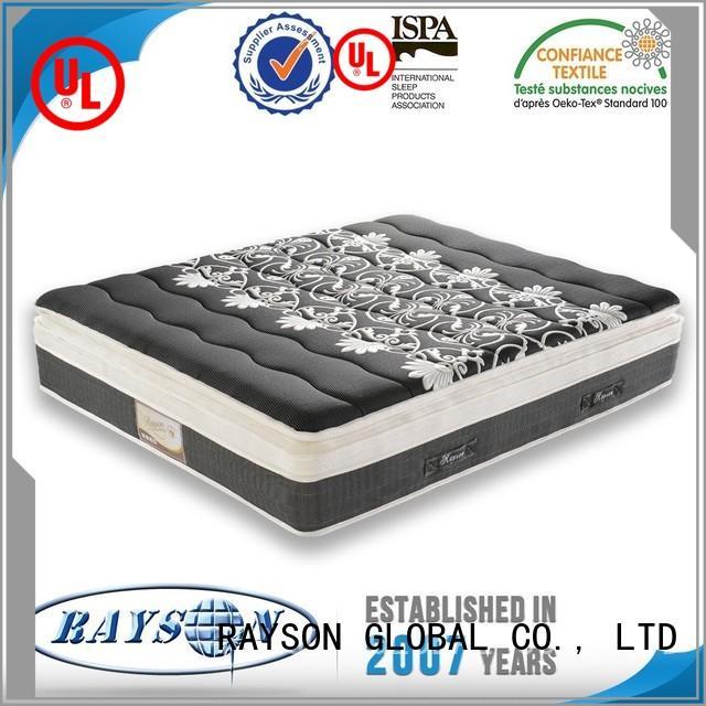 Rayson Mattress plush mattress spring coil manufacturers
