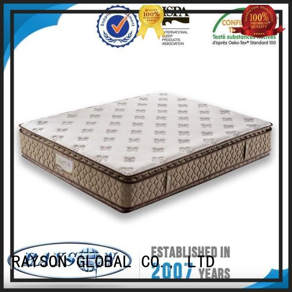 Rayson Mattress high grade pocket sprung mattresses online series for hotel