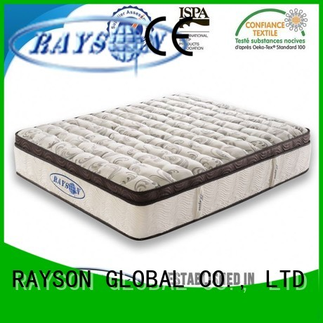 silicon stead exported Rayson Mattress Brand star hotel mattress manufacture