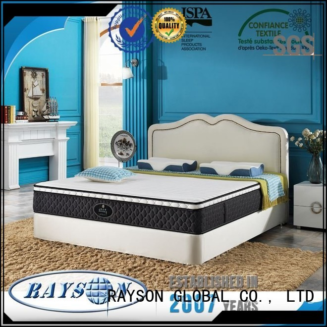 Rayson Mattress Best soft pocket sprung king size mattress Supply