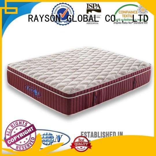 renewable flexible soft 5 star hotel mattress Rayson Mattress Brand