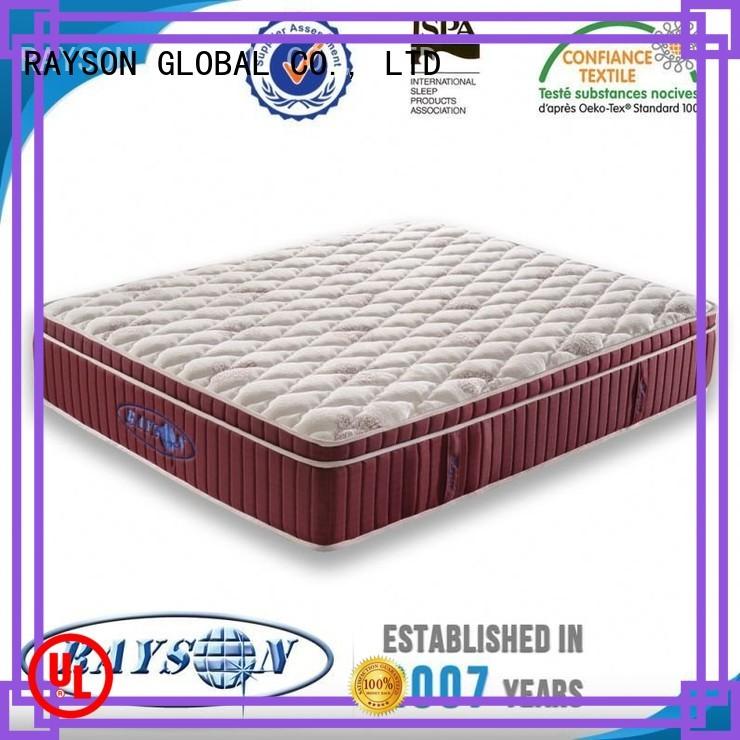 Rayson Mattress Brand pad down star hotel mattress 6inch