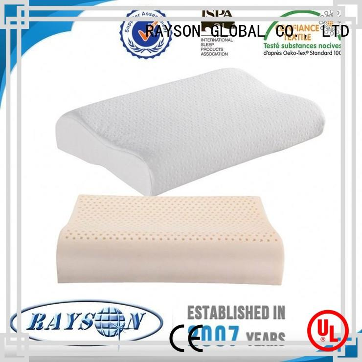 Rayson Mattress Brand inner firepproof rubber what is the best latex pillow pu