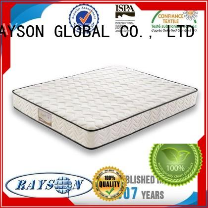 pillows package top 10 pocket sprung mattress specification Rayson Mattress company