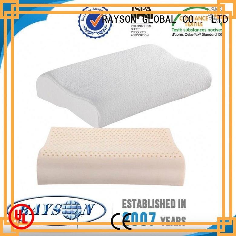 charcoal wadding support OEM best latex pillow 2018 Rayson Mattress