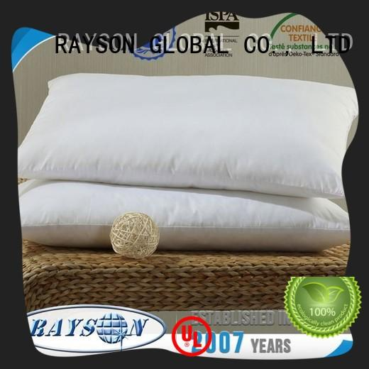 Rayson Mattress Wholesale difference between down and feather pillows Suppliers