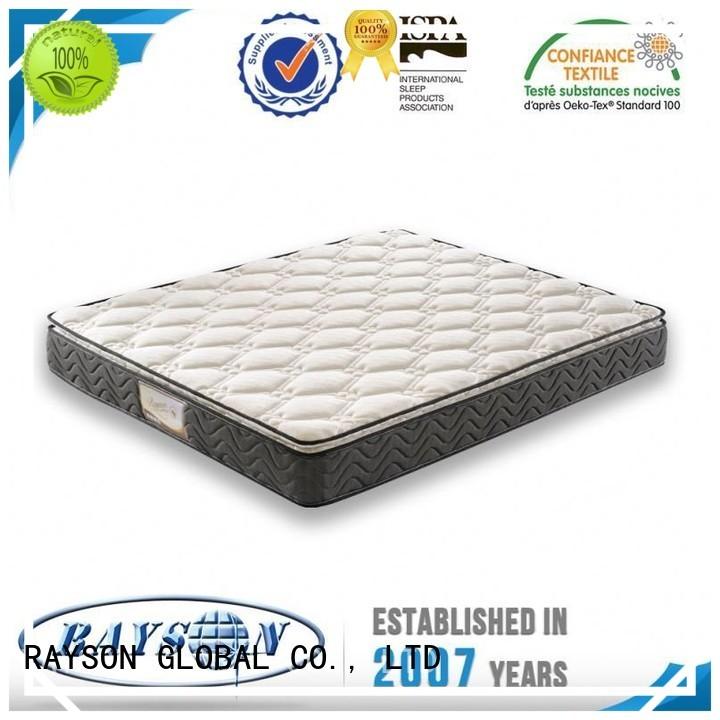 memeory comfortabe nattress OEM bonnell spring mattress benefits Rayson Mattress