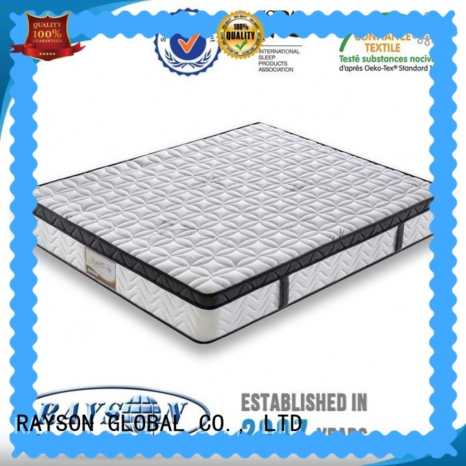bonnell and memory sprung mattress super for hotel Rayson Mattress