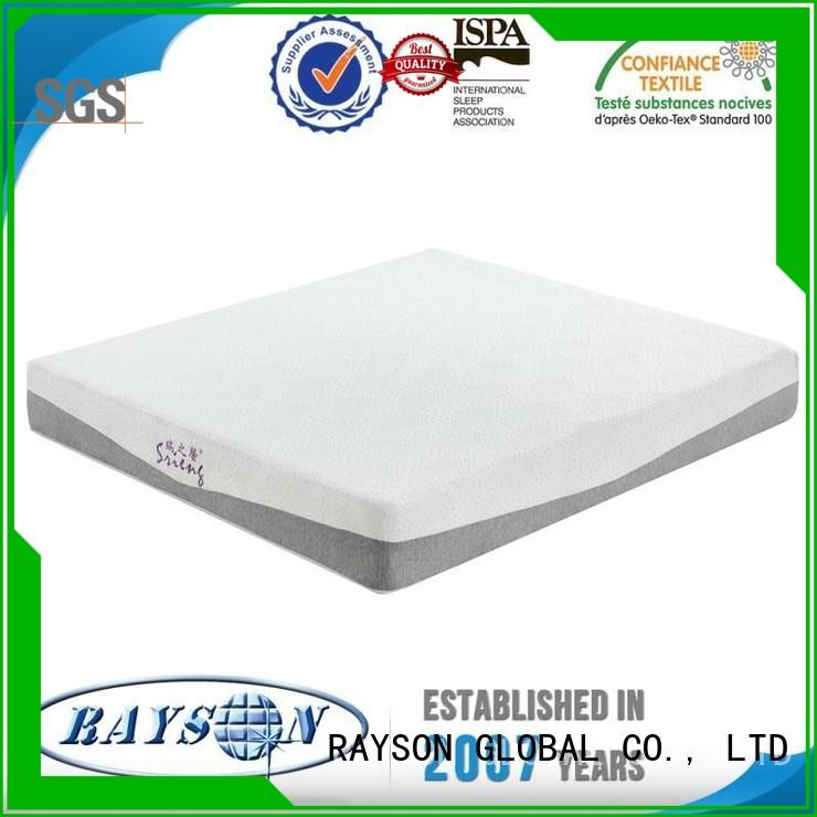 Rayson Mattress gel polyurethane foam mattress Supply