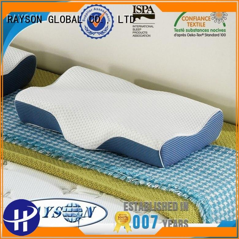 effect coiling continuous memory foam pillow deals Rayson Mattress Brand company