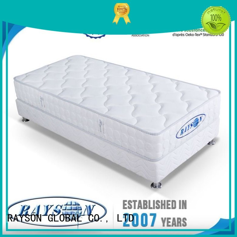 talalay gel continuous spring mattress well antiacarien Rayson Mattress company