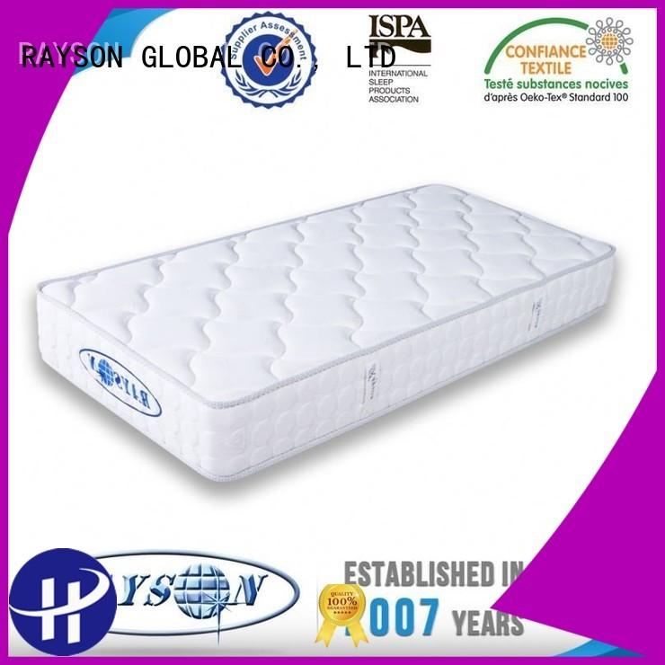 pu memory foam and coil spring mattresses nipple orthopedic Rayson Mattress Brand