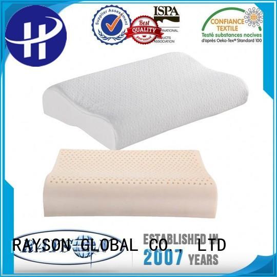 happy hotsale website best latex pillow 2018 neck Rayson Mattress Brand