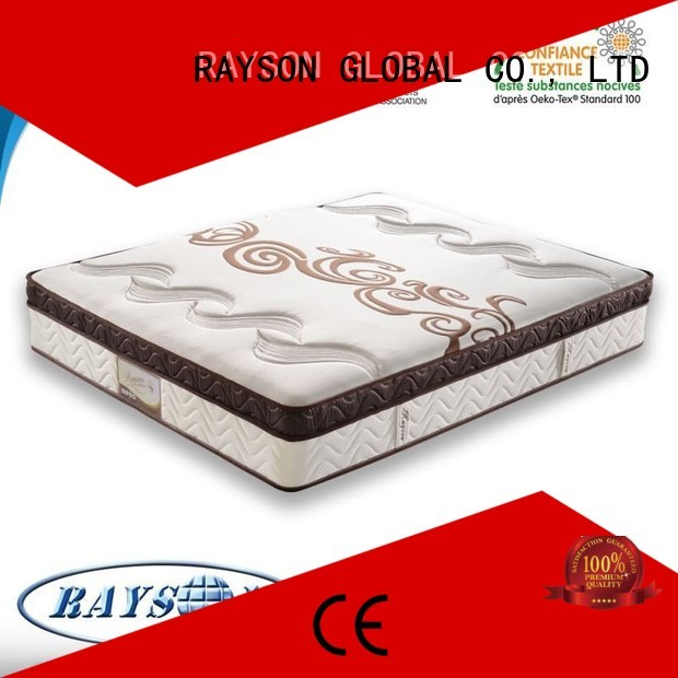 Rayson Mattress hot-selling memory foam and coil spring mattresses elastic for hotel
